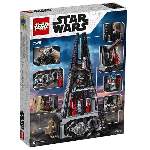Castillo de Darth Vader de Lego