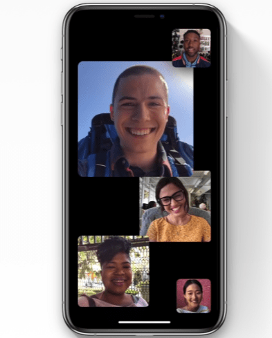 ios 12 facetime características de iOS 12.1