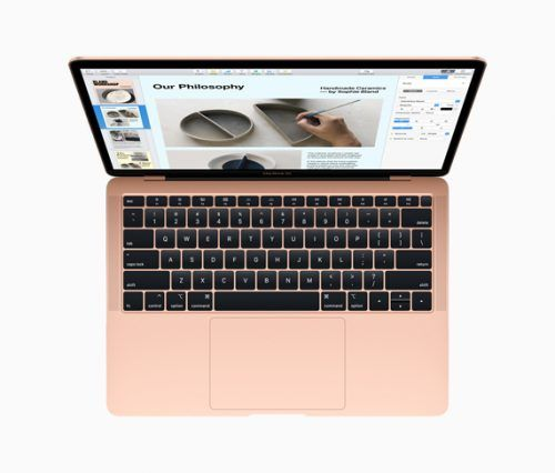 macbook air con retina display