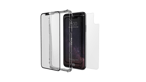 mica de protección para iPhone XS