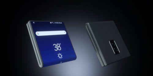 celular plegable de Samsung