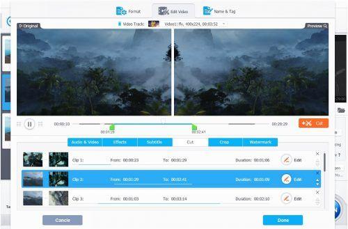 videoproc editar video GoPro 4K