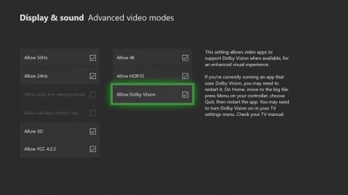 actualización Xbox One de octubre