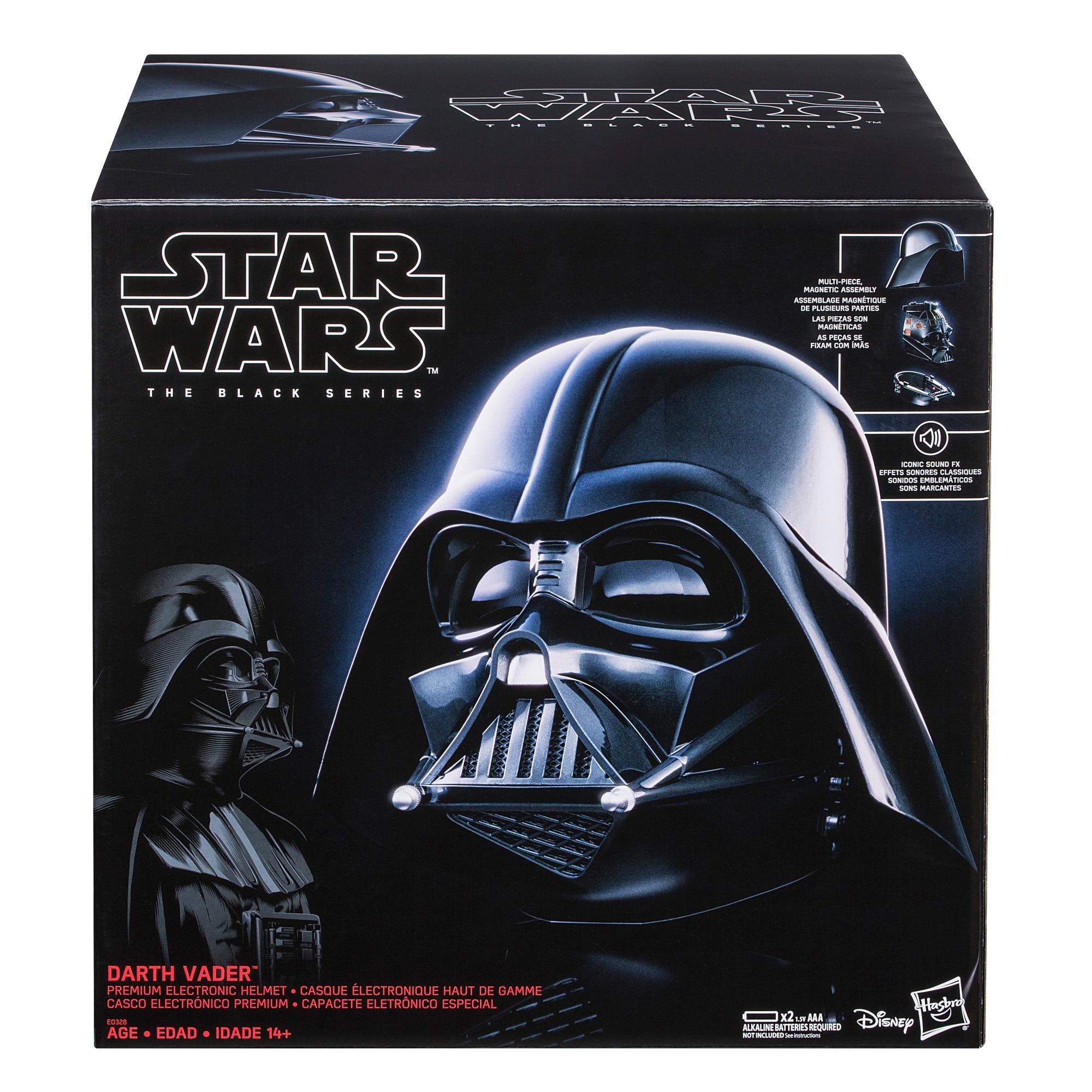 Casco Darth Vader de Hasbro