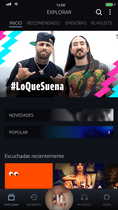 amazon music en México