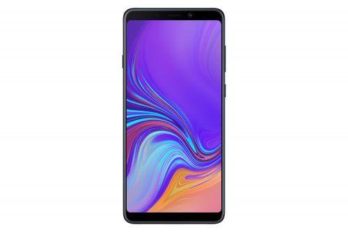 Galaxy A9 (2018) versus Huawei Mate 20 Pro.