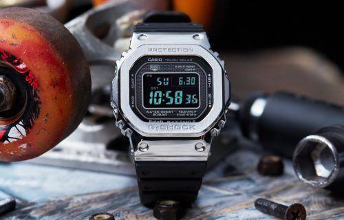 Casio G-Shock de metal
