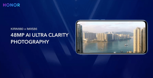 celulares con cámara de 48 megapixeles Honor View 20