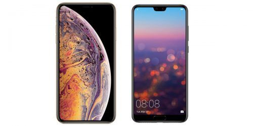 iPhone XS Max vs Huawei P20 Pro