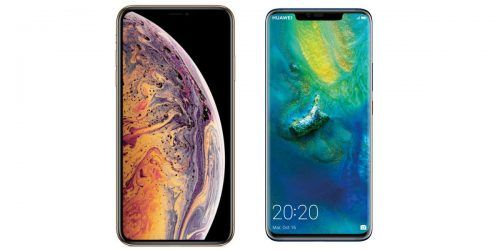 iPhone XS Max vs Huawei Mate 20 Pro