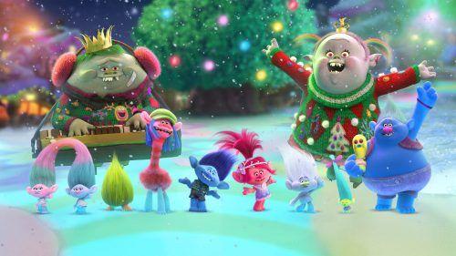 trolls vamos a festejar la navidad