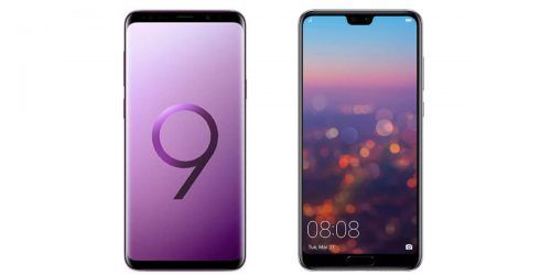 Samsung Galaxy S9 Plus vs Huawei P20 Pro