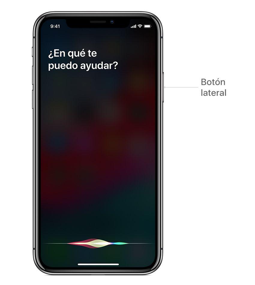 hablar con Siri