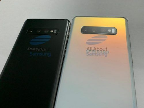 Fotos del Samsung Galaxy S10 y S10 Plus