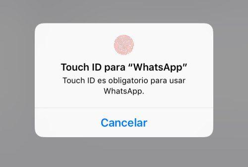 desbloquear WhatsApp con Face ID