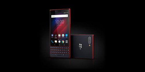 BlackBerry roja BlackBerry KEY2 Red Edition