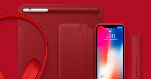 iphone xs rojo