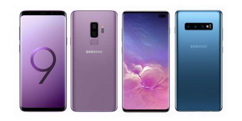 Samsung Galaxy S9+ vs Samsung Galaxy S10+