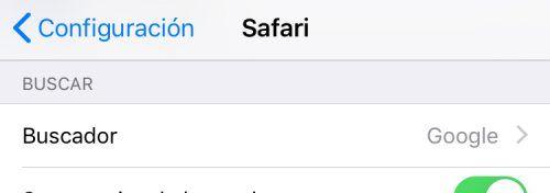 Google en Safari: Cómo cambiar el buscador predeterminado en iPhone