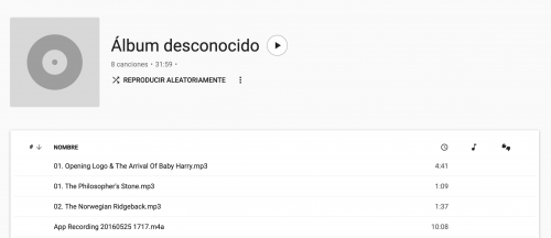 subir música a Google Play Music