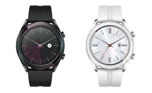 Huawei Watch GT Active Edition y Huawei Watch GT Elegant Edition