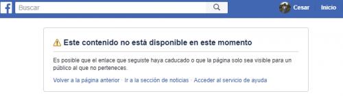 cómo saber si me bloquearon de facebook