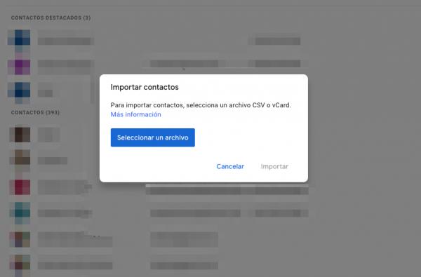 hacer una copia de seguridad de contactos
