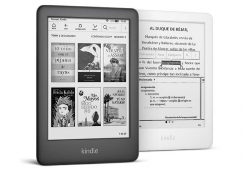 nuevo Kindle con luz frontal ajustable