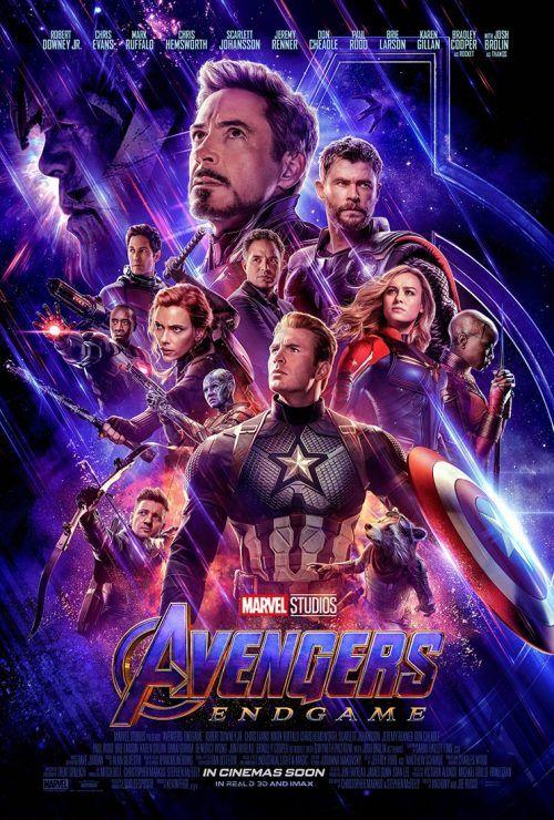 Nuevo póster de Avengers Endgame