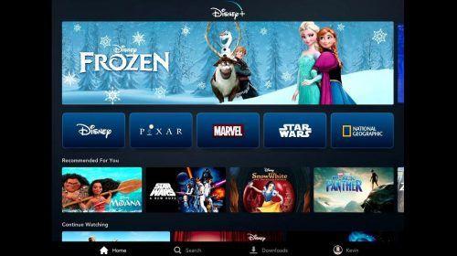 lanzamiento de Disney+