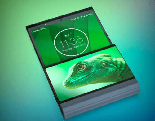 Celular plegable de Lenovo