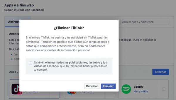 eliminar facebook de forma segura