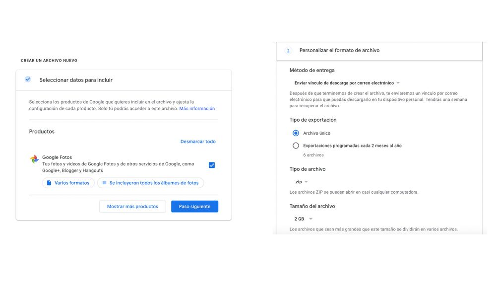 cómo descargar todas las fotos de google fotos a mi pc