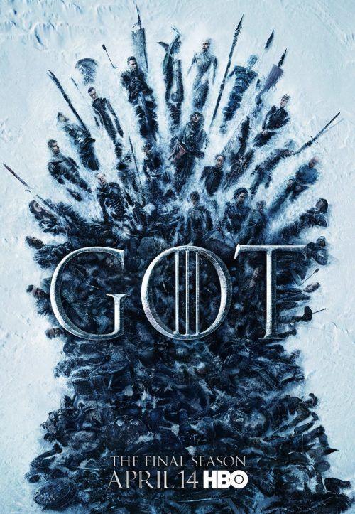 nuevo pòster de game of thrones