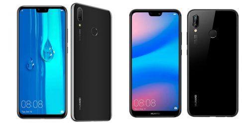 Huawei Y9 vs Huawei P20 Lite
