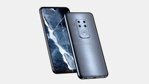 nuevo celular de Motorola con cuatro cámaras