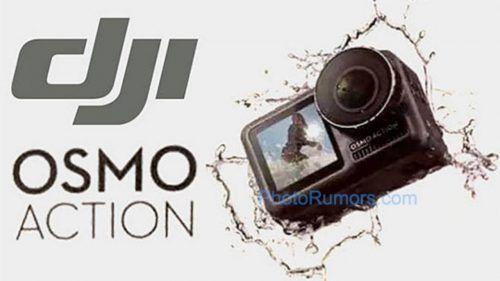 filtración de DJI Osmo Action