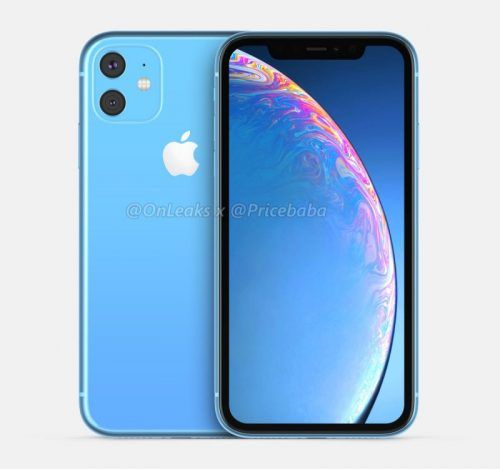 nuevos renders del iPhone XR