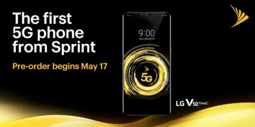 Preventa del LG V50 con 5G