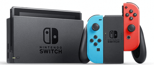nintendo switch neón