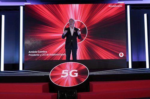 5G en españa Vodafone