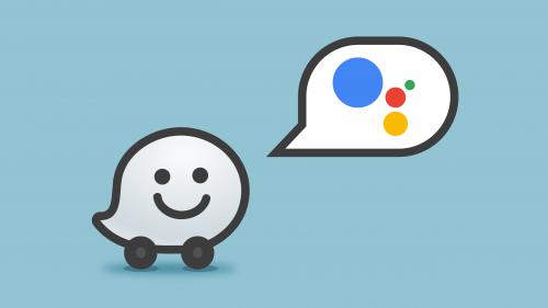 Waze con Google Assistant