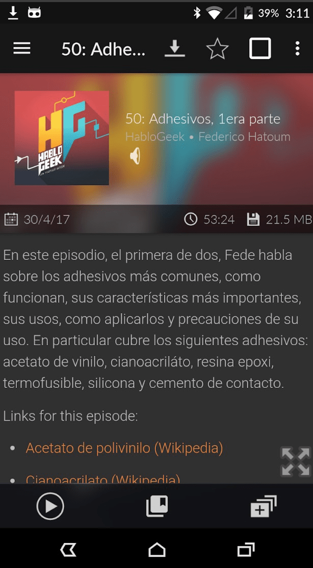 podcasts en android