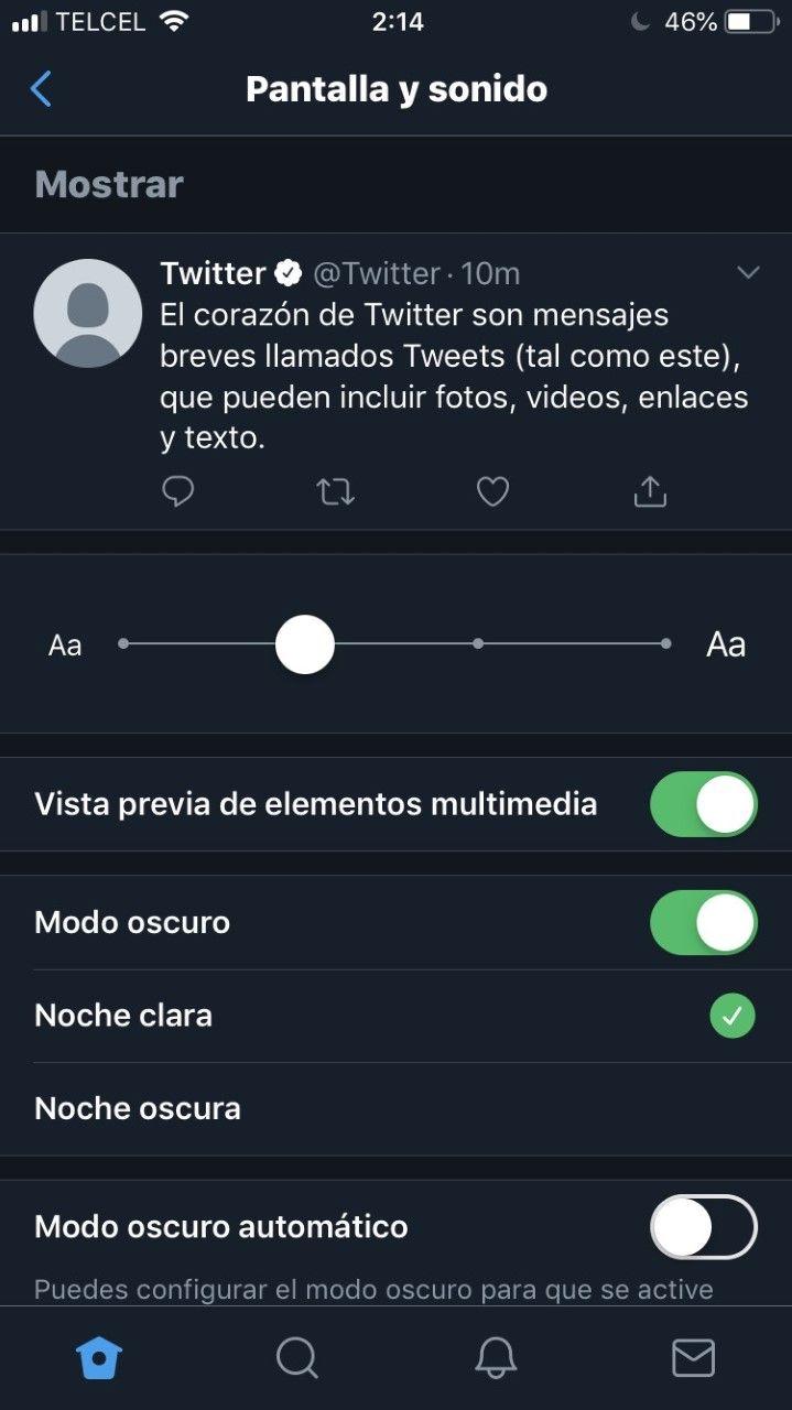 apps en modo oscuro para iphone