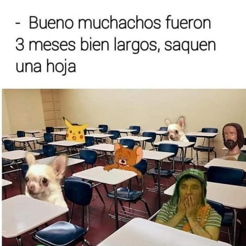 Regreso a clases memes