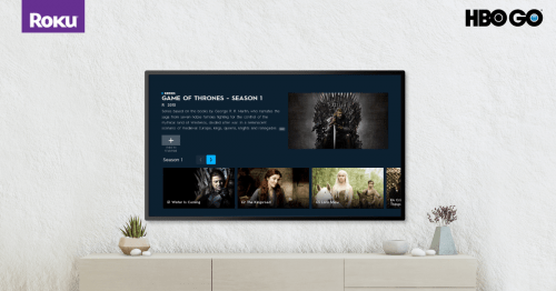 HBO Go en Roku - HBO en Roku
