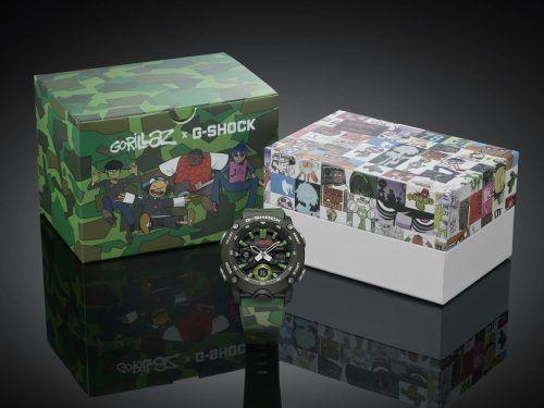 Gorillaz x G-Shock Reloj de Gorillaz G-Shock