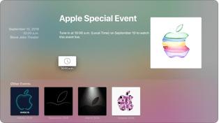 cómo ver el evento apple septiembre 2019