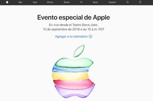 cómo ver el evento de Apple 2019