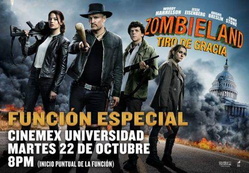 Zombieland 2 estreno México
